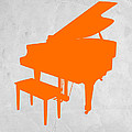 Orange Piano by Naxart Studio