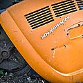 Orange Vw Bug by Carolyn Marshall