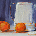 Oranges Still Life by Cindy Roesinger