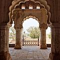 Orchha's Palace India by Luciano Mortula