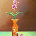 Orchids by Arline Wagner