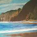 Oregon Beach by Samuel McMullen