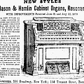 Organ Ad, 1870 by Granger