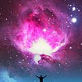 Orion Nebula Awestruck by Larry Landolfi