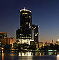 Orlando Florida Panorama by John Zawacki