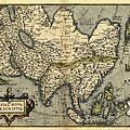 Ortelius's Map Of Asia, 1570 by Library Of Congress, Geography And Map Division
