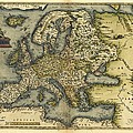 Ortelius's Map Of Europe, 1570 by Library Of Congress, Geography And Map Division