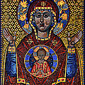 Orthodox Icon Of The Mosaic by Gennadiy Golovskoy