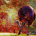 Ostrich II by Arne Hansen