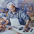 Oud Maker by Ghazi Toutounji