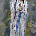 Our Lady Of Lourdes 2 by Vicki  Housel