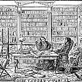 Our Library Table, 1842 by Granger
