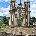 Ouro Preto Church by David Rich