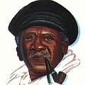Ousmane Sembene by Emmanuel Baliyanga