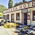 out front Cardrona Hotel by Chris Warring
