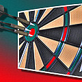Out Of Bounds Bullseye by Michael Frank Jr