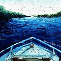 Out On The Boat by Shana Rowe Jackson
