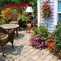 Outdoor Patio by Cindy Haggerty