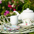Outdoor Tea Party by Amanda Elwell