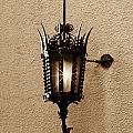 Outdoor Wall Lamp Dark Sepia by Linda Phelps