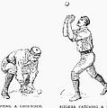 Outfielder, 1889 by Granger