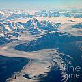 Over Alaska by Peggy Starks