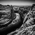 Over The Glen Canyon Dam by Geoffrey Gilson