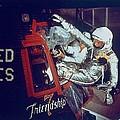 Overall View Of Astronaut John Glenn by Everett