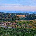 Overlook Of The Gettysburg Battlefield by Dave Sandt