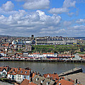 Overlooking Whitby by Rod Johnson