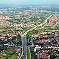 Overview Of Jakarta. by TeeJe
