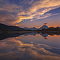 Ox Bow Bend Sunset by Joseph Rossbach