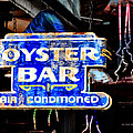 Oyster Bar Sign by Bill Cannon