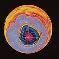 Ozone Hole Over Antarctica by Nasa
