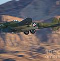 P-38 Gear Up by Tim Mulina