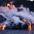 Pacific Lava Flow II by Dave Fleetham - Printscapes