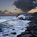 Pacific Lava Flow Iv by Dave Fleetham - Printscapes