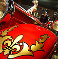 Packard Fire Engine  by Cathi Abbiss Crane