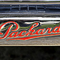 Packard Name Plate by David Lee Thompson