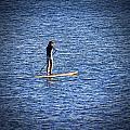 Paddle Boarding by Douglas Barnard