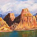 Padre Bay Lake Powell by Jennifer Hillman