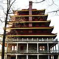 Pagoda Reading Pa. by Bill Cannon