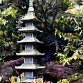 Pagoda Tower Of Zen by Elaine Plesser