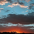 Pagosa Springs Colorado Sunset by Elizabeth Rose