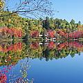 Paint Lake  Muskoka Canada by Pat Speirs