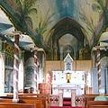 Painted Church Of Hawaii by Elaine Haakenson