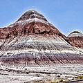 Painted Desert Mounds by Jon Berghoff