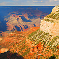 Painted Grand Canyon Before Sunset by Eva Kaufman
