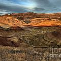 Painted Hills In The Fossil Beds by Adam Jewell