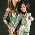 Painted Ladies by Terry Jorgensen